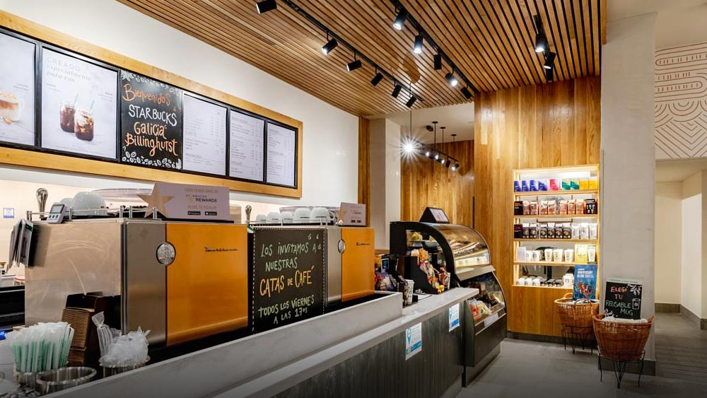 Starbucks banco galicia