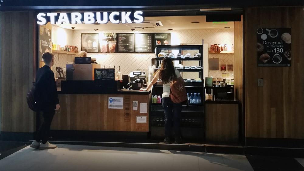 Starbucks subte