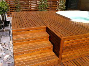 mantenimiento de decks de madera